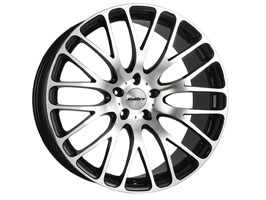 "Calibre Altus Black & Polished 20"" VW T5 T6 Alloy Wheels"