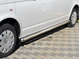 Vanstyle MAXX 76mm Stainless Steel Side Bars VW T5