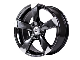 BK Racing BK213 Hyper Graphite and Polished 18� VW T5 5x120