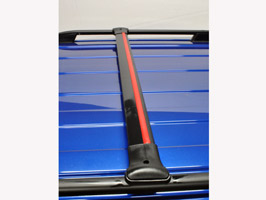 Aluminium Cross Bar VW Caddy SWB & Maxi 04-15 & 15>