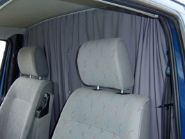 VW T5/T6 Tailored Curtain – Cab Seperation