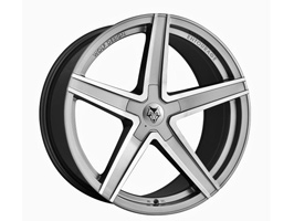 "Wolfrace Entourage Graphite-Polished 20"" VW T5 T6 Wheel & Tyre"