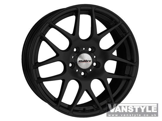 "Calibre Exile Matt Black 8x18"" 5x120 VW T5"