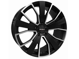 "Calibre Kensington Black & Polished 20"" VW T5 T6 Alloy Wheels"
