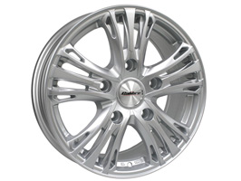 "Calibre Odyssey 18"" Hyper Silver Transit Custom Alloy Wheels"