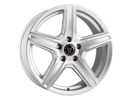 "Wolfrace Scorpio 8x18"" Hyper Silver Packaged VW Caddy 04>10 &"