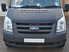 Ford Transit Plain Bonnet Bra 2007>2012