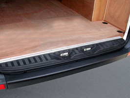 VW Crafter & Mercedes Sprinter 06-12 BLACK Rear Bumper Protector