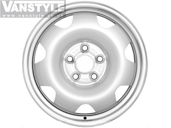"Genuine 17"" VW Steel Wheels"