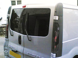 Vanstyle Vivaro Trafic Primastar Rear Barn Door Glass Pack