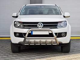Stainless Steel Replacement Toothed A-Bar VW Amarok 2010>