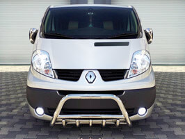 Vanstyle MAXX Stainless Replacement Toothed A-Bar  Vivaro >2012