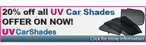 20%OFF ALL UV CAR SHADES