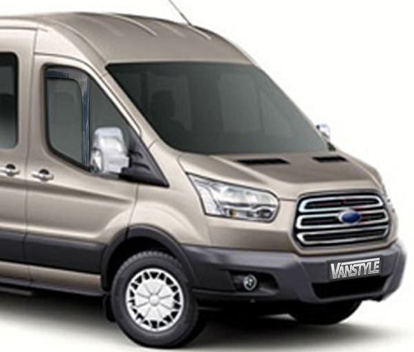 Ford Transit MK8 Side Window Wind Deflectors 2014>