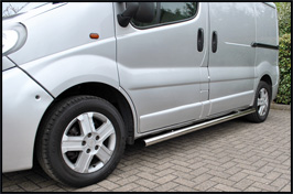 VS Styling 60mm Sidebars NO STEPS Vivaro & Trafic 2014>