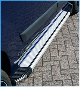 Ford Transit Custom Aluminium Side Step Running Board 2012>