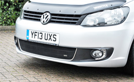 VW Caddy - Caddy Maxi 2010> Mesh Lower Grille Polished or Black