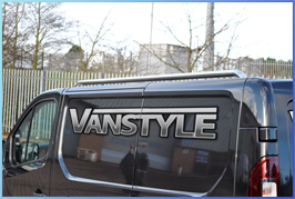 Stainless Steel Polished  Roof Rail Set - Vivaro & Trafic 14>