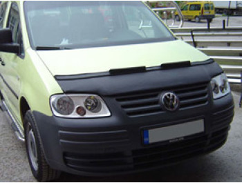 VW Caddy Bonnet Bra Half Aero 04>10