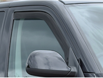 Side Window Deflectors Black (Front) VW T5 03-15