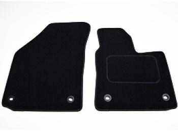 Front Carpet Mat Set VW Caddy 04-15 & 15> RHD