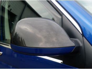 Real Carbon Fibre Mirror Covers VW T5 10-15 & Amarok 10>