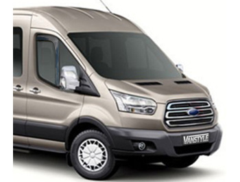 Ford Transit MK8 Side Window Wind Deflectors 2014-2019>