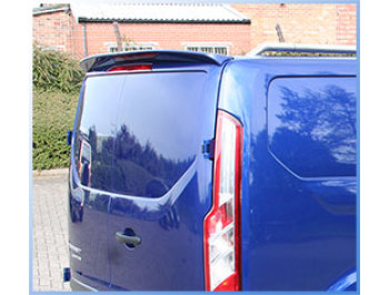 Rear Twin Door Spoiler High Quality Ford Transit Custom