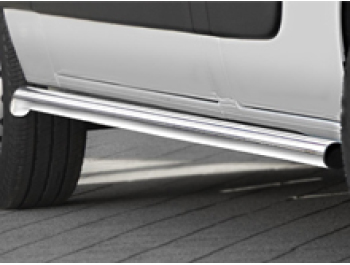 Cobra 60mm S.Steel Brushed Side Bars - Master, Movano, NV400 10>