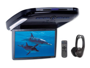 "Alpine 10.2"" WVGA Overhead Monitor with DVD-Player"