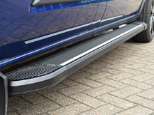 Vivaro & Trafic 2014> Black Aluminium Side Step Running Boards