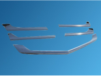Mercedes Sprinter 5Pcs. Stainless Steel Upper Front Grille Trim