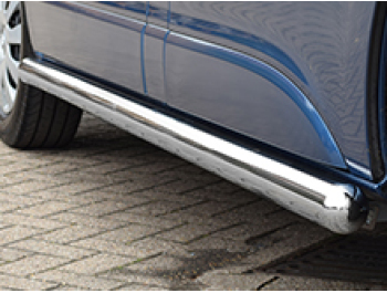 76mm Stainless Steel Side Bars Vivaro / Trafic 01-14 & 14>