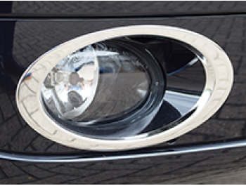 Stainless Steel Fog Light Trims, T5 & Caravelle Facelift, 2010>