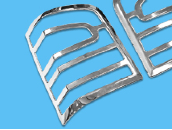 Chrome Rear ABS Tail Light Covers - VW T5 10-15