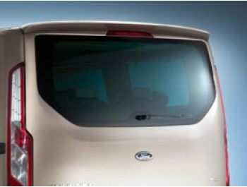 Rear Tailgate Spoiler PU Rim High Quality Ford Transit Custom