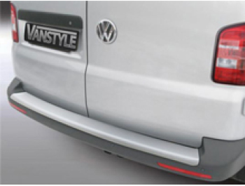 VW T6 2015> Twin Door ABS Bumper Protector