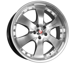 Calibre Voyage Set of 4 Wheels Silver 8.5x20