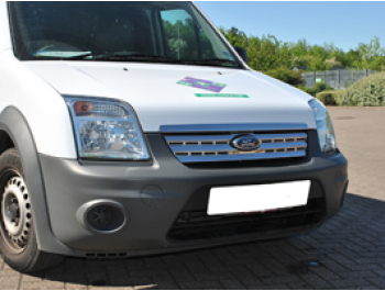 Ford Transit Connect 2010> Stainless Steel Front Grille Kit