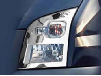 Ford Transit MK7 2 Pcs S.Steel Chrome Head Light Surrounds