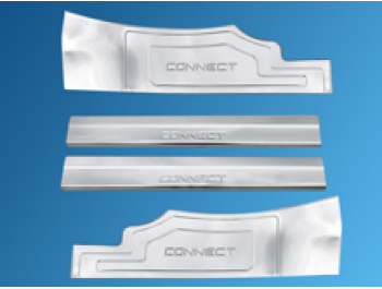 Ford Connect Tourneo 4Pcs. Door Entry Sill Guard Cover