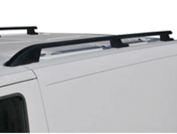 Roof Styling Bars Black Aluminium Ford Transit Custom