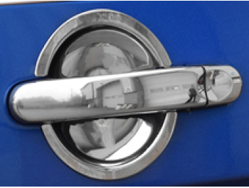 Stainless Steel Door Handle Insert Trim - VW T5 T6 Caddy