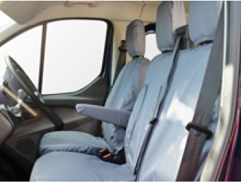 100% Waterproof Tailored Seat Covers Transit Mk8 14-19>