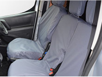 100% Waterproof Grey Tailored Seat Covers Berlingo/Partner
