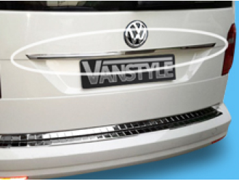 VW Caddy & Maxi 2015> Stainless Steel Rear Grab Handle Trim