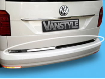 VW Caddy & Maxi 2015> 1Pc. Stainless Steel Rear Tailgate Trim