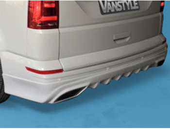 VW T6 T6.1 2015> Tailgate GRP Rear Bumper Skirt