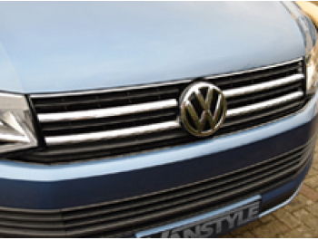 Genuine VW T6 Transporter Upgrade Front Caravelle Grille