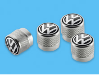 Volkswagen Original Valve Caps For Rubber/Metal Valves